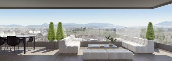 Terraza promoción Lezkairu Panoramic